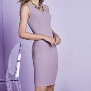 BODY PERFECTING V-NECK SHEATH DRESS